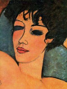 Quando conoscerò la tua anima dipingerò i tuoi occhi~   #Modigliani   #VentagliDiParole  @NienteDaVedere  @duesoli