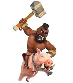 hog rider level max - Google Search