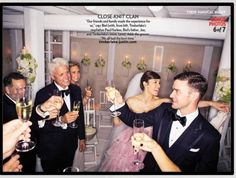 Justin Timberlake Toasts With Guests At His Wedding To Jessica Biel