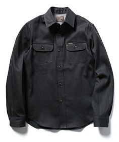 8 OZ COTTON DENIM / RIGID COWBOY WORK SHIRT(シャツ/ブラウス)|MR.OLIVE(ミスターオリーブ)のファッション通販 - ZOZOTOWN