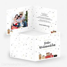 Weihnachtskarte Geschenke 14.5 x 14.5 cm Polaroid Film, Gold Stars, Glitter Stars, Thanks Card, Holiday, Xmas Cards, Glee, Christmas, Gifts