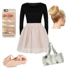 """""""Ballet makes me happy!"""" by madalyn0418 on Polyvore featuring Rare London, Bloch, Casetify and Chanel"""