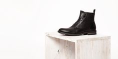 Winter 2017, Fall Winter, Autumn, Biker, 18th, Wedges, Boots, Collection, Fashion