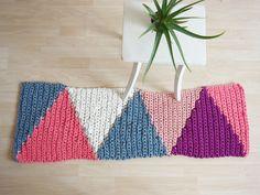 Teppiche - Barcelona Teppich aus 100% recyceltem Material - ein Designerstück von WhiteChairShop bei DaWanda
