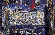 Guardians of the Secret, 1943 by Jackson Pollock