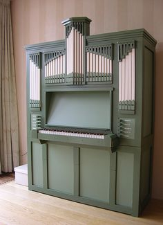 Nijkerk - Peter Bakker Residence Organ by pietbron, via Flickr