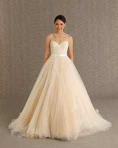 Decote com Tule para o Vestido de Noiva                                                                                                                                                                                 Mais