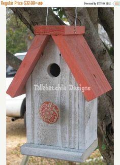 30% OFF FLASH SALE Today Birdhouse, Birdhouses, Reclaimed Barnwood Birdhouse, Nautical Birdhouse, Beach Birdhouse, Distressed Rustic Birdhou