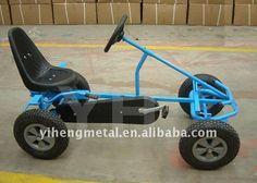 Pedal carro ir / areia praia carrinho