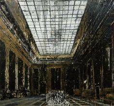 "Anselm Kiefer ""Interior"" 1981"
