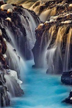 Brúarfoss, Iceland:
