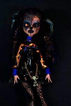 MESUNIA KAPOOR  Monster High Art Doll Custom by Refabrications