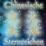 zur Übersicht - Chinesische Sternzeichen