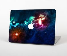 """The Glowing Colorful Space Scene Skin Set for the Apple MacBook Pro 15"""" with Retina Display from Design Skinz"""