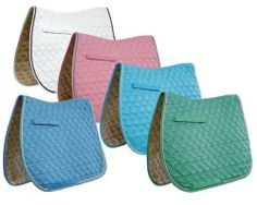 Roma Ecole Swirl Quilt Close Contact Saddle Pad- Horse or Pony Size, Blue / Yellow, Horse by Roma F.C.. $21.75. Premium Quality! Tough and made to last ! ROMA ECOLE Saddle Pads. A work of art in a saddle pad.  Stand out with Roma Ecole. Eye catching color for every discipline. Unique Swirl quilting design combined with lush fabrics set this pad apart from others.  Total Comfort - cushioned micro tricot wick easy lining draws away moisture keeping your horse dry and ...