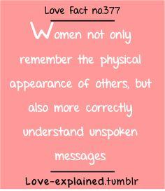 Love facts...random yet true