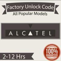 Alcatel Unlock Codes!