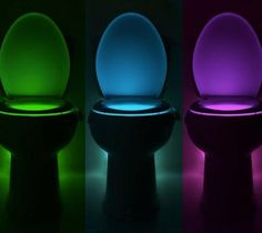 IllumiBowl Is a Night Light For Your Toilet