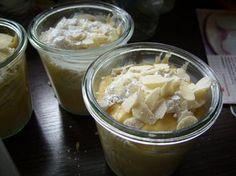 Kuchen im Glas: Apfel - Mandel