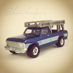 "Ford F-150 - 2016 Hot Wheels ""Car Culture: Trucks"" #hotwheels / #diecast / #toys / #Ford / #hwp2016cctr"