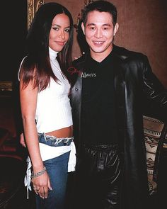 Jet Li and Aaliyah