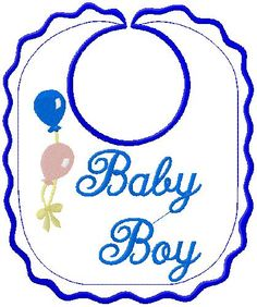 Baby Bib embroidery design