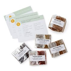 Look what I found at UncommonGoods: Tastes of the World Cooking Kits for $20 #uncommongoods