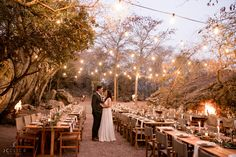 Under the beautiful stars of Monate game Lodge Unaresa and Donovan's reception was one we could never forget. Photo by JCclick