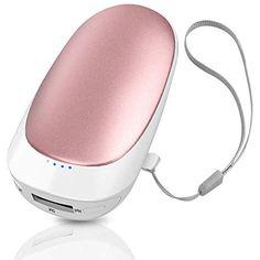 Lachesis Handw/ärmer 5200mAh Powerbank USB wiederaufladbarer Handw/ärmer Tragbarer elektrischer Handw/ärmer M/änner und Frauen Kinder im kalten Winter