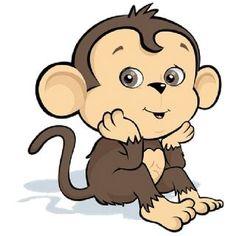 600 600 plus clipart animal bébé singe monkey tattoo funky monkey Monkey Drawing, Monkey Art, Cute Monkey, Tattoo Ninja, Baby Animals, Cute Animals, Monkey Tattoos, Cartoon Monkey, Year Of The Monkey