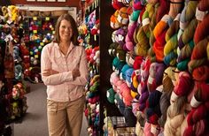 Thursday Thought:  An 'Accidental Journey' into Entrepreneurship  Spinning Profits From Yarn How former software engineer Laura Zander turned a hobby into a $8-million business. by Sandy M. Fernández