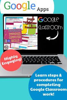 Classroom Procedures, Beginning Of The School Year, Google Classroom, Upper Elementary, Teacher Resources, Brittany, Curriculum, Muscat, How To Get