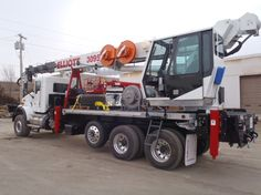 We have items from the major brands on the market, including National, fine Champion, ALTEC, and Wagner Cruz, Versalift, Skylift. If you're renting gear, we offer daily, regular, and monthly rentals is extensively examined and analyzed before each rental. http://www.plrei.com/