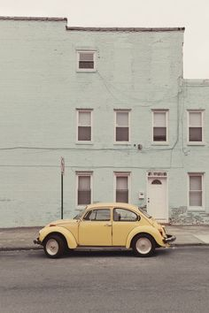 punch buggy yellow!