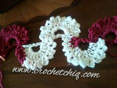 Berries in the Snow Scarf | Crochet Chiq @Afshan Sayyed Sayyed Sayyed Sayyed Shahid