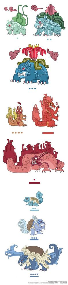 Mayan Pokemon…
