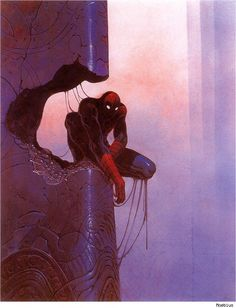 Moebius Visions of American Superheroes and Comic Book Icons [Art]
