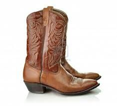 New pair of cow boy boots in the mail