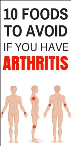 Here Are 10 Foods To Avoid That Can Aggravate Arthritis!!! - Way to Steal Healthy