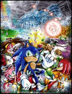 Open Your Heart by sanitrance on DeviantArt Pokemon, Sonic Sega Game, Sonic The Hedgehog, Hedgehog Art, Videogames, Japanese Video Games, Sonic Adventure, Fanart, Sonic And Amy
