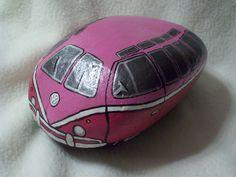 Pink VW Volkswagen Bus