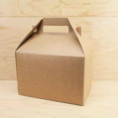 favour | Kraft Gable Box | 1ct for $1.05 in Gable Boxes - Packaging