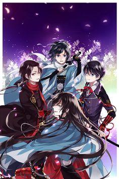 Touken Ranbu, Shinsengumi swords