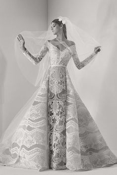 The Divine Elie Saab Bridal Fall Collection 2017 | See it in full on www.onefabday.com