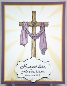 Heart's Delight Cards: Easter Message