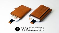 Luxury full grain cowhide leather wallets handcrafted in Spain with RFID protection at a low launch price.