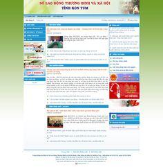 Website Sở Lao Động Và Thương Binh Xã Hội Tỉnh Kon Tum - Thiết kế web http://cnm.com.vn