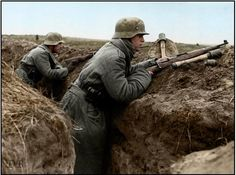 Image result for ww2 german soldier with stick grenade