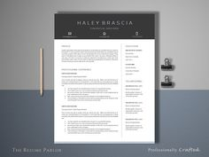 Career Change Resume Template Excel Cv Resume And Cover Letter Set V  Cool Resumes High School  Community College Resume Word with Skills For A Job Resume Word Resume Template  Page  Finance Cv Promo Model Resume Excel