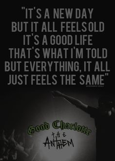 25 Best Good Charlotte images | Lyrics, Music lyrics, Song Lyrics